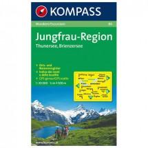 Kompass - Jungfrau-Region - Cartes de randonnée
