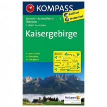 Kompass - Kaisergebirge - Cartes de randonnée