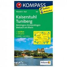 Kompass - Kaiserstuhl - Wanderkarte
