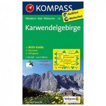 Kompass - Karwendelgebirge - Vaelluskartat