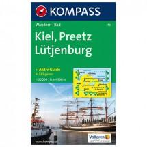 Kompass - Kiel - Preetz - Lütjenburg - Wanderkarte