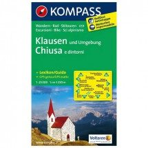 Kompass - Klausen und Umgebung - Cartes de randonnée