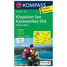 Kompass - Klopeiner See - Cartes de randonnée