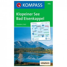 Kompass - Klopeiner See-Bad Eisenkappel - Wandelkaarten