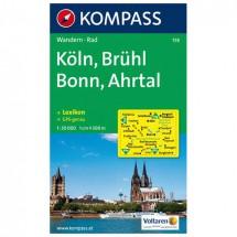 Kompass - Köln - Wandelkaarten