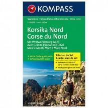 Kompass - Korsika Nord - Vaelluskartat