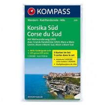 Kompass - Korsika Süd - Vaelluskartat