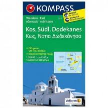 Kompass - Kos - Cartes de randonnée