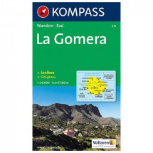 Kompass - La Gomera - Cartes de randonnée