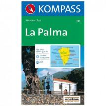 Kompass - La Palma - Wanderkarte