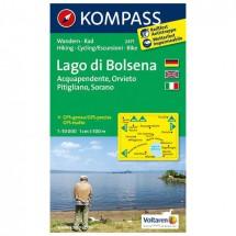 Kompass - Lago di Bolsena - Hiking Maps