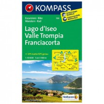 Kompass - Lago d'Iseo - Hiking Maps