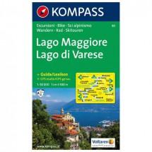 Kompass - Lago Maggiore /Lago di Varese - Wandelkaarten