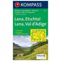 Kompass - Lana - Wanderkarte