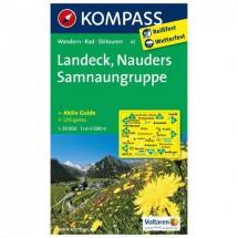 Kompass - Landeck - Wandelkaarten