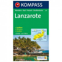 Kompass - Lanzarote - Wandelkaarten