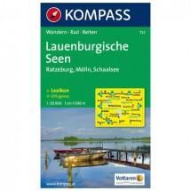 Kompass - Lauenburgische Seen - Wanderkarte