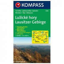 Kompass - Lausitzer Gebirge/LuZicke hory - Wanderkarte