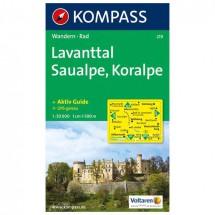 Kompass - Lavanttal - Cartes de randonnée