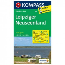 Kompass - Leipziger Neuseenland - Wanderkarte