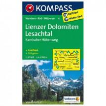 Kompass - Lienzer Dolomiten - Wanderkarte