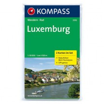 Kompass - Luxemburg - Hiking Maps