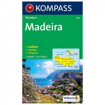 Kompass - Madeira - Wanderkarte