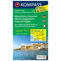 Kompass - Maremma - Wanderkarte