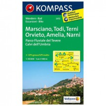 Kompass - Marsciano - Cartes de randonnée