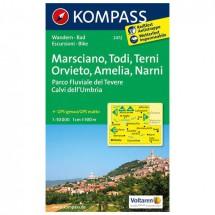 Kompass - Marsciano - Wanderkarte