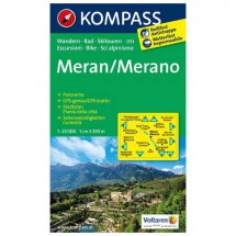 Kompass - Meran /Merano - Hiking Maps