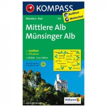 Kompass - Mittlere Alb - Wanderkarte
