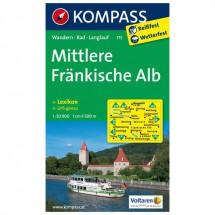 Kompass - Mittlere Fränkische Alb - Wanderkarte