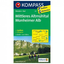 Kompass - Mittleres Altmühltal - Hiking Maps