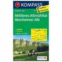 Kompass - Mittleres Altmühltal - Cartes de randonnée