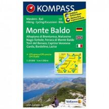 Kompass - Monte Baldo - Cartes de randonnée