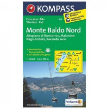 Kompass - Monte Baldo Nord - Vaelluskartat