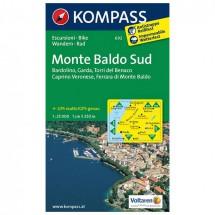 Kompass - Monte Baldo Süd - Wandelkaarten