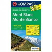 Kompass - Monte Bianco - Wanderkarte