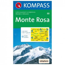 Kompass - Monte Rosa - Cartes de randonnée