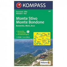 Kompass - Monte Stivo - Wanderkarte