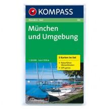 Kompass - München und Umgebung - Wanderkarte