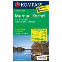 Kompass - Murnau - Wandelkaarten