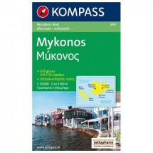 Kompass - Mykonos - Hiking Maps