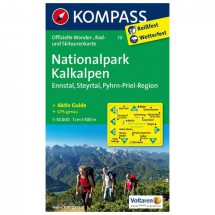 Kompass - Nationalpark Kalkalpen - Cartes de randonnée
