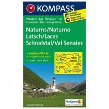 Kompass - Naturns - Cartes de randonnée