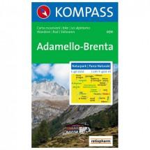 Kompass - Naturpark Adamello-Brenta - Cartes de randonnée