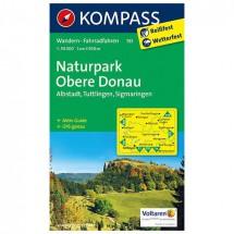 Kompass - Naturpark Obere Donau - Wandelkaarten