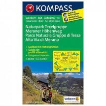 Kompass - Naturpark Texelgruppe - Vaelluskartat