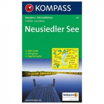 Kompass - Neusiedler See - Wanderkarte